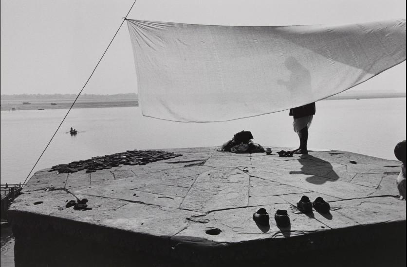 Bernard Pierre Wolff, Varanasi (Bénarès), Inde, 1975 © Bernard-Pierre Wolff. Collection MEP, Paris. Don de l'auteur.