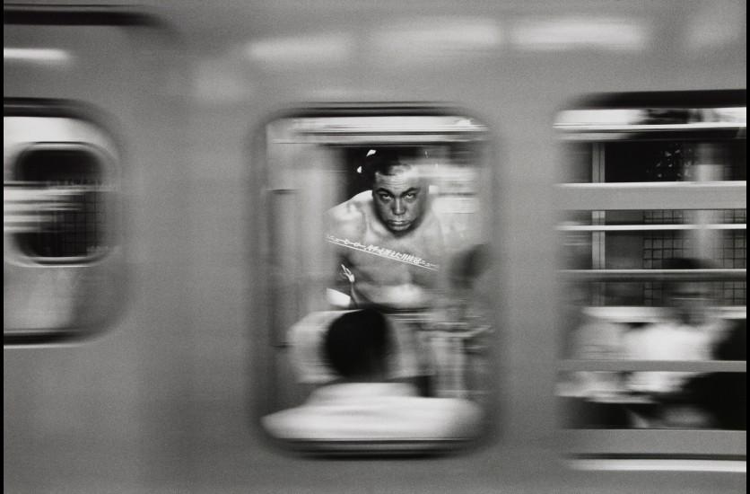 Bernard Pierre Wolff, Métro, Tokyo, 1981 © Bernard-Pierre Wolff. Collection MEP, Paris. Don de l'auteur.