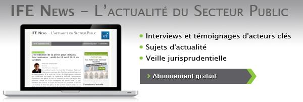 IFE News - L'actualité du Secteur Public